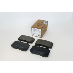 Колодки тормозные MERCEDES-BENZ W163 98 05/W220 98 05/W129 передние (KOTL) 1454KT