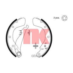 Колодки тормозные барабанные / OPEL Astra-F,Combo,Corsa-A/B/C, Tigra,Kadett-E (200x28) 90 (Nk) 2736539