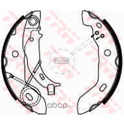 Колодки тормозные барабанные задн MB: W168 1.4-1.7CDI 97 (PATRON) PSP569