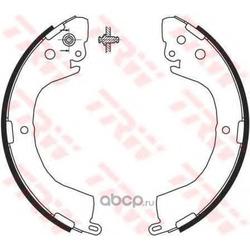 Колодки тормозные барабанные задн MITSUBISHI: L200 2.4/2.5TD 96 /L400 2.5TD 96 (PATRON) PSP617