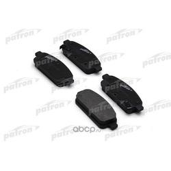 Колодки тормозные дисковые задн OPEL: ASTRA 1.4/1.6/1.3D 09 (PATRON) PBP4265