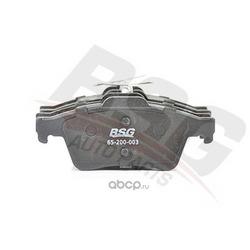 Колодки тормозные дисковые задние / FORD C-Max,Focus-II,Transit Connect;MAZDA-3/5;OPEL Signum,Vectra-C; SAAB-9/3 04/02 (BSG) BSG65200003