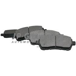 Колодки тормозные дисковые задние / FORD Kuga,S-Max,Galaxy,Mondeo-IV;VOLVO S80,V70,XC70 2006 (JP Group) 1563700610