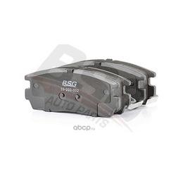Колодки тормозные дисковые задние / OPEL Antara ,CHEVROLET Captiva 07 (BSG) BSG16200002