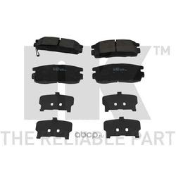 Колодки тормозные дисковые задние / OPEL Antara ,CHEVROLET Captiva 07 (Nk) 223639