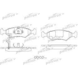 Колодки тормозные дисковые передн KIA: SEPHIA 95-, SEPHIA седан 93- Chevrolet Cobalt 1.5 01.2014 , 77kW/105hp (PATRON) PBP982
