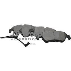 Колодки тормозные дисковые передние / A4, A5 08 (JP Group) 1163606910