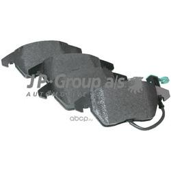 Колодки тормозные дисковые передние (JP Group) 1163601110