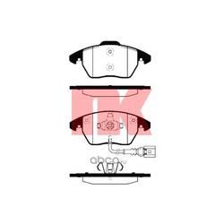 Колодки тормозные дисковые передние (Nk) 224770