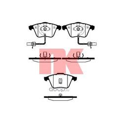 Колодки тормозные дисковые передние / AUDI A6 0205 (Nk) 224758