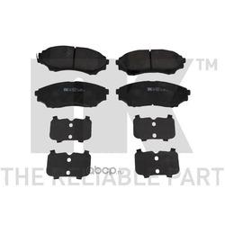 Колодки тормозные дисковые передние / FORD Ranger 02 (Nk) 222574
