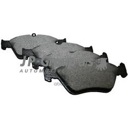 Колодки тормозные дисковые передние / OPEL Calibra, Vectra-A 2.0-16V-2.5 89 - 95, Omega-B 2.0 94 (JP Group) 1263600710