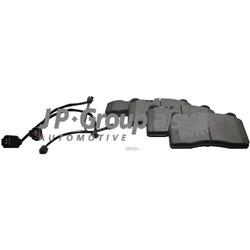 Колодки тормозные дисковые передние / VW Touareg (BREMBO) 03 (JP Group) 1163606810
