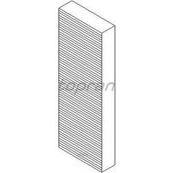 Фильтр вентиляции салона / A6 2.0-3.0 04 (topran) 110313755