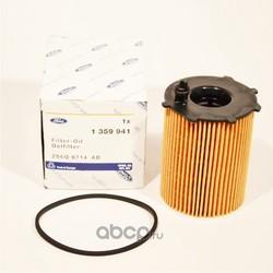 Фильтр масляный / FORD Fiesta, Focus-I/II, Fusion 1.4 TDCI / 1.6 DI 01 (FORD) 1359941