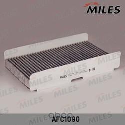 Фильтр салона CITROEN C3/C4/PEUGEOT 307/308 02 угольный (Miles) AFC1090