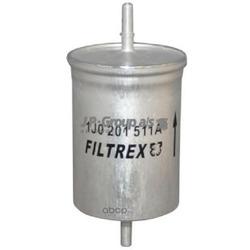 Фильтр топливный, бензин / AUDI,SEAT,SKODA,VW 1.4-4.2 96 (JP Group) 1118700400