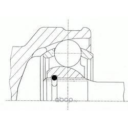 ШРУС наружн Hyndai: I30/ KIA Ceed 1.4/1.6 07 (PATRON) PCV4095