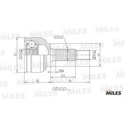 Шрус (Miles) GA20308