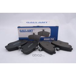 Колодка тормозная передняя кл (Gallant) GLBP15