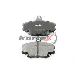 Колодки тормозные 04 передние комплект (KORTEX) KT1634STD