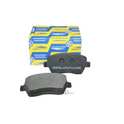 Колодки тормозные передние (TRANSMASTER) TR204C