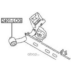Сайлентблок переднего рычага (ASVA) 2401LOG
