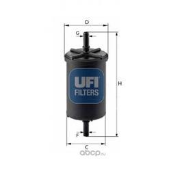 Фильтр топливный бензин (UFI) 3194800