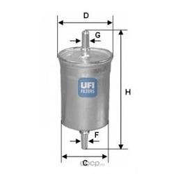 Фильтр топл (UFI) 3171000