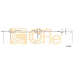 Трос сцепления (Cofle) 102890