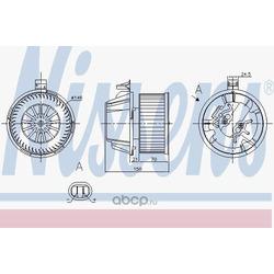 Мотор отопителя (Nissens) 87269