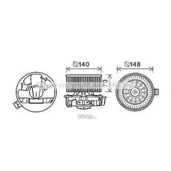 Электродвигатель (Ava) DA8010