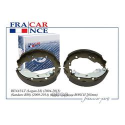 Колодка барабанного тормоза мм (Francecar) FCR210332
