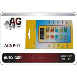 Набор предохранителей с пинцетом 5 30а (Auto-GUR) AGNP01