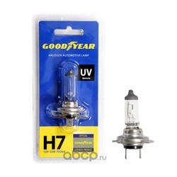 Лампа автомобильная галогенная блистер (GOODYEAR) GY017121
