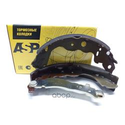 Колодки тормозные задние с рычагом 230 42мм (ASP) BD09101020