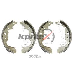 Колодки барабанные к-т (KORTEX) KS028STD