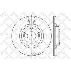 Диски тормозные (Stellox) 60203913VSX