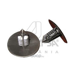 Клипса защита бампера подкрылка комплект 10 шт цена за 1шт (ASAM-SA) 30392