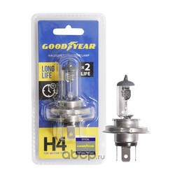 Лампа h4 12v 60/55втт блистер (GOODYEAR) GY014123