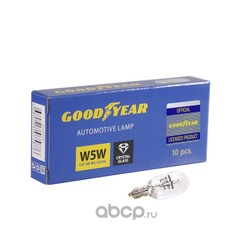 Лампа накаливания автомобильная коробка (GOODYEAR) GY015205