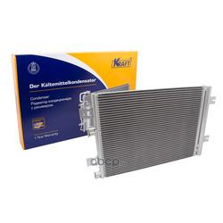 Радиатор кондиционера с ресивером (Kraft) KT104039