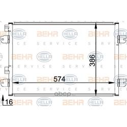 Радиатор кондиционера (HELLA) 8FC351318371