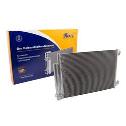 Радиатор кондиционера с ресивером (Kraft) KT104040