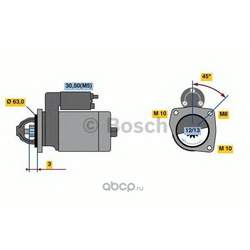 Генератор (Bosch) 0986022800