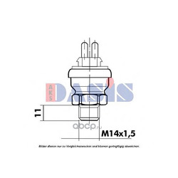 Термовыключатель вентилятор радиатора (AKS DASIS) 751069N