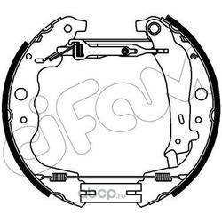 Комплект тормозных колодок (Cifam) 151357