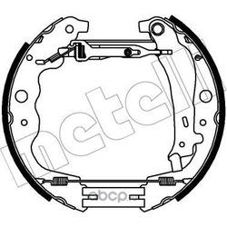Комплект тормозных колодок (Metelli) 510357
