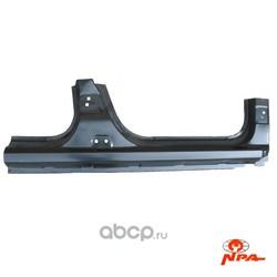Порог кузова левый рено логан ларгус (NPA) NP51107177