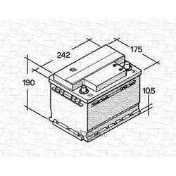 Стартерная аккумуляторная батарея (MAGNETI MARELLI) 067143813003